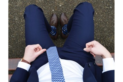 Elegantné bodky modré