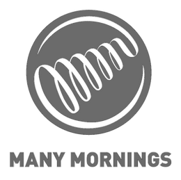 Many Mornings Logo