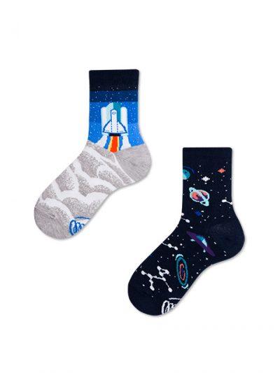 Detské ponožky Cesta do vesmíru