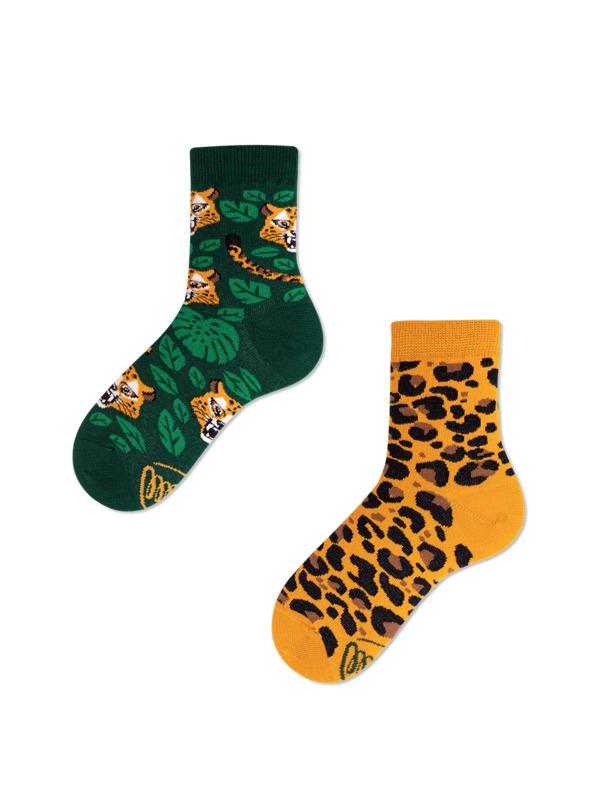 Leopard detské ponožky  9a980b6985
