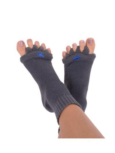 Adjustačné ponožky šedé