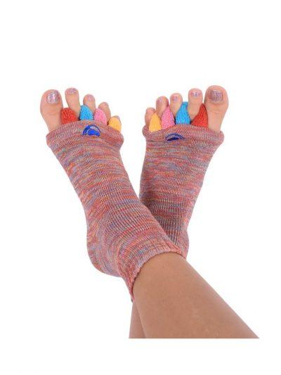 Adjustačné ponožky viacfarebné