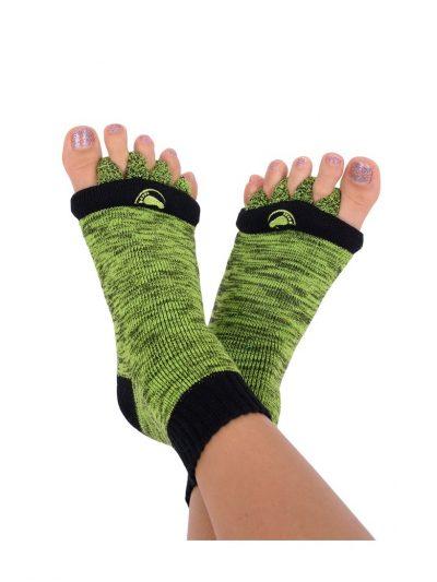 Adjustačné ponožky zelené