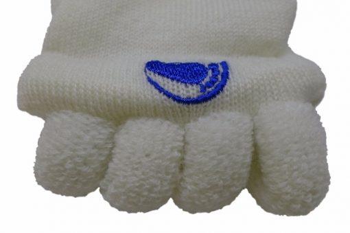 Adjustačné ponožky biele