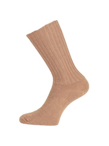 Mohérové vlnené ponožky s voľným lemom