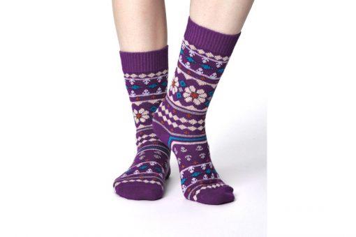 Vlnené ponožky Viktoir