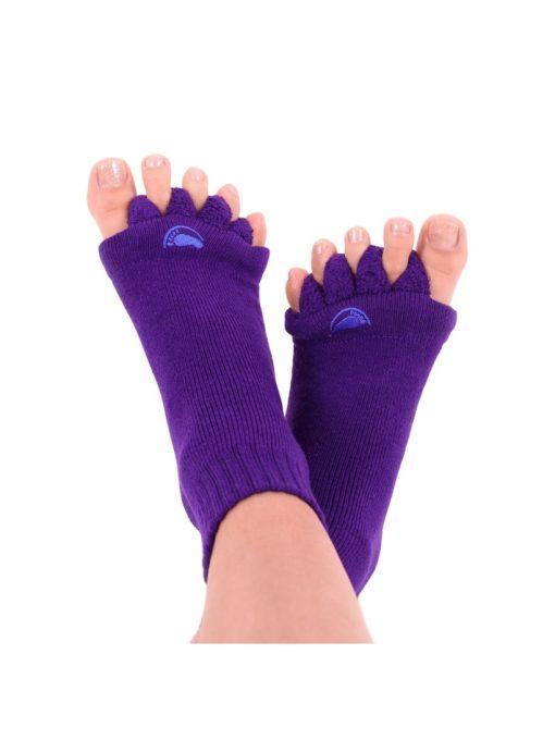 Adjustačné ponožky fialové