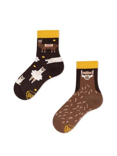 Detské ponožky Lama alpaka