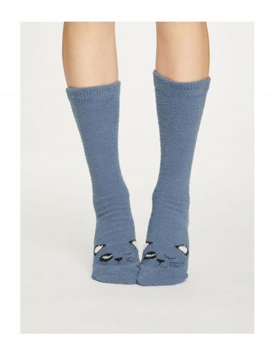 Vysoké ponožky Mačka