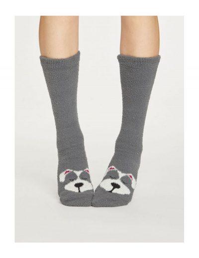 Vysoké ponožky Psík