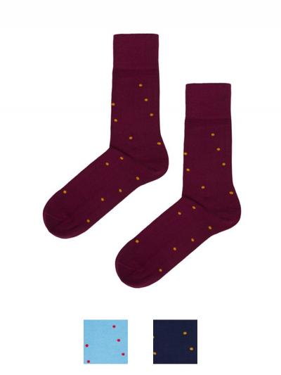 Ponožky bodka z organickej bavlny