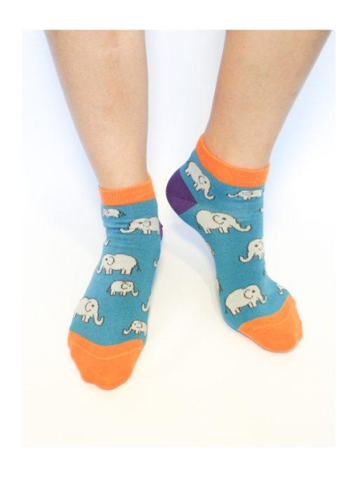 Slony členkové ponožky