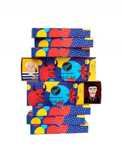 Ponožkový set Umelci