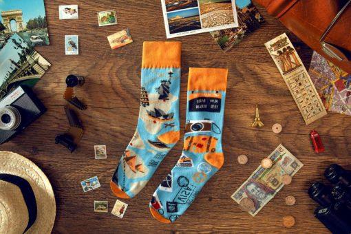Ponozky Cestovanie