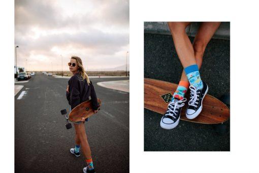 Veselé ponožky Aloha