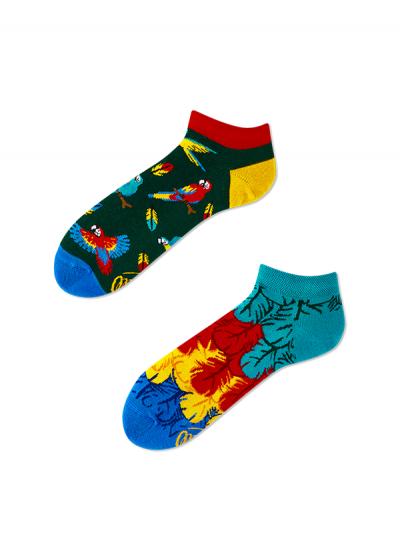 Členkové ponožky Papagáj