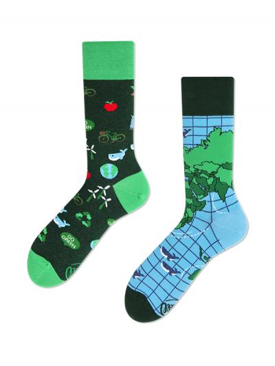Veselé ponožky Planéta Zem