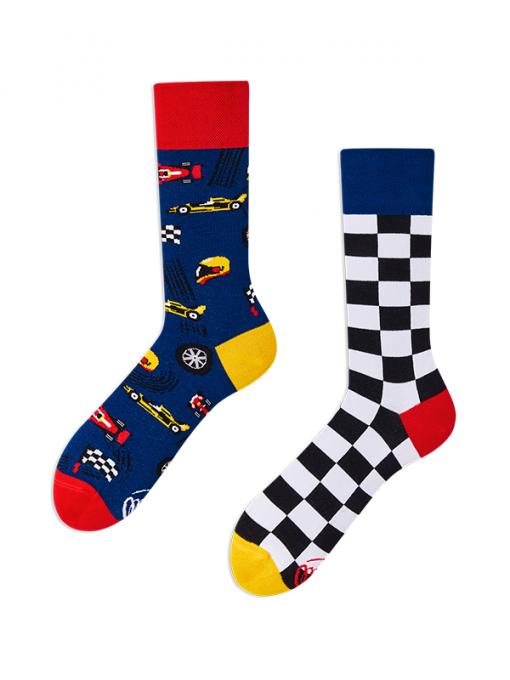 Veselé ponožky Preteky