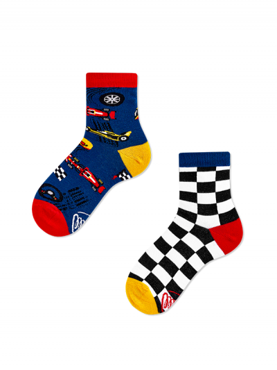 Detské ponožky Preteky