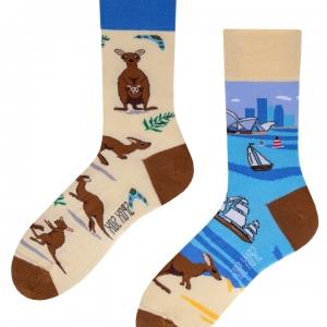 Veselé ponožky Austrália – Spox Sox