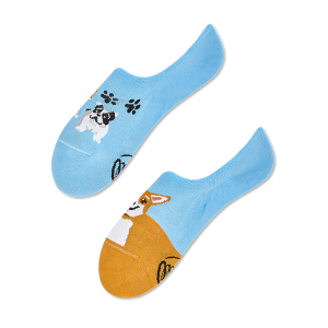Nízke ponožky Hravý psík – Many Mornings