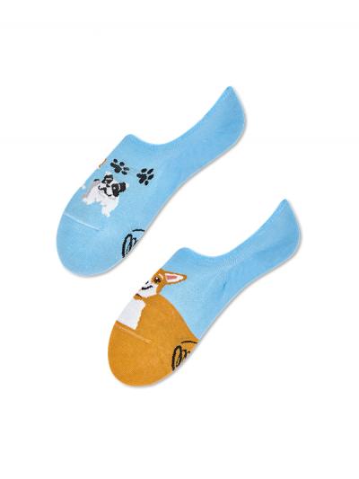 Nízke ponožky Hravý psík