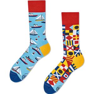 Veselé ponožky Plavba – Many Mornings