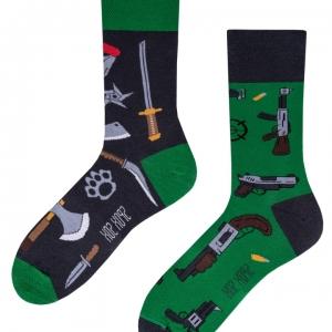 Veselé ponožky Zbrane – Spox Sox