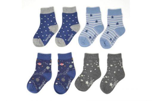 Darčeková kazeta Vesmír detské ponožky