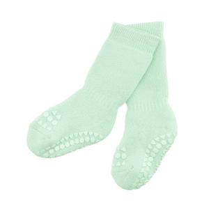 Protišmykové ponožky svetlo-zelené