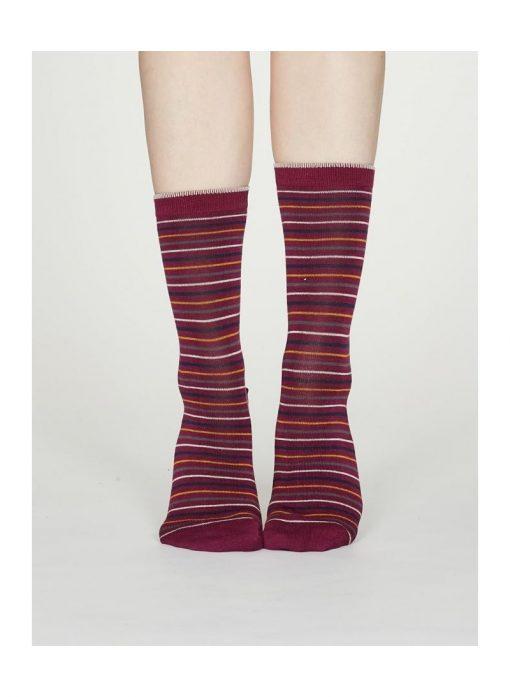Darčekové balenie 4 dámskych ponožiek Zima
