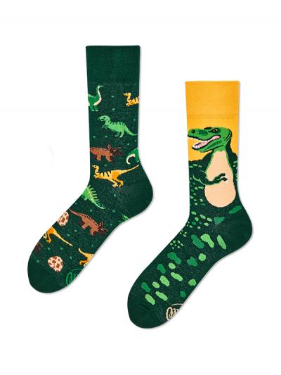 Veselé ponožky Dinosaurus