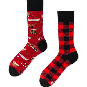 Veselé ponožky Drevorubač – Many Mornings