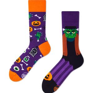 Veselé ponožky Frankenstein – Many Mornings