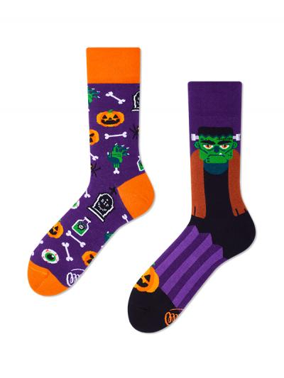 Veselé ponožky Frankenstein