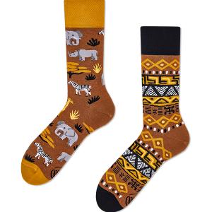 Veselé ponožky Zvieratá Afriky – Many Mornings