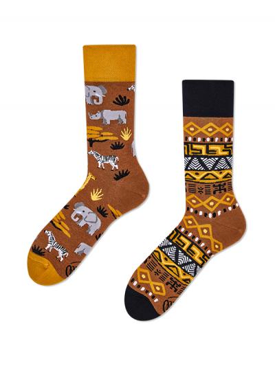 Veselé ponožky Zvieratá Afriky