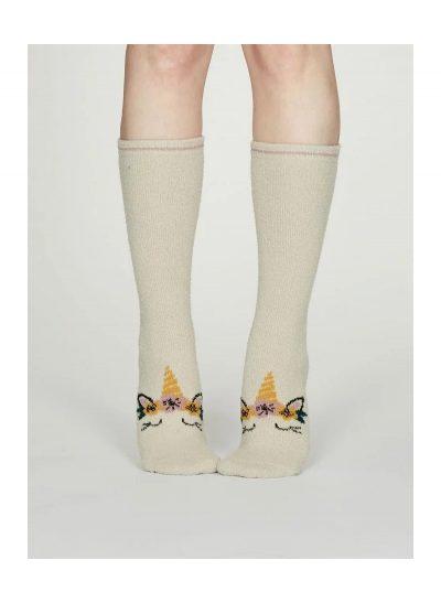 Vysoké ponožky Jednorožec