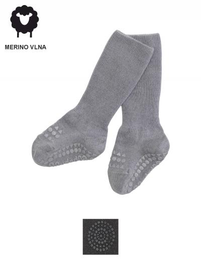 Protišmykové vlnené ponožky