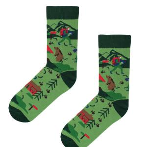 Veselé ponožky Na túre – Kabak