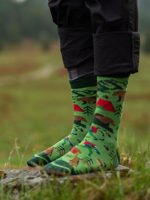 Veselé ponožky Na túre