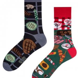 Veselé ponožky BBQ – Spox Sox