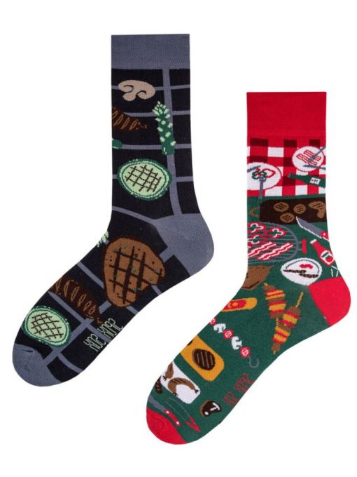 Veselé ponožky Barbeque - Spox Sox