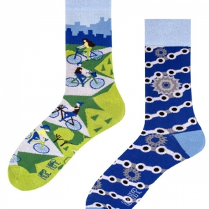 Veselé ponožky Cyklisti – Spox Sox