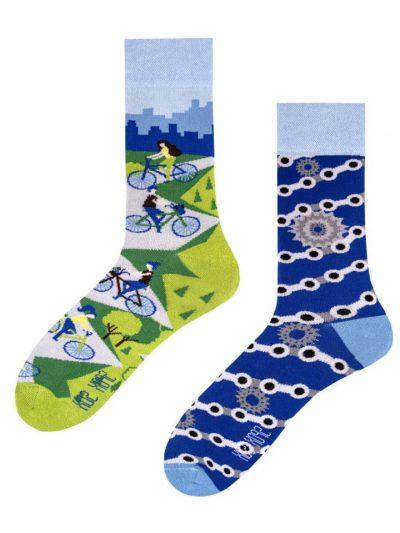 Veselé ponožky Cyklisti - Spox Sox
