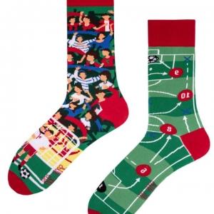 Veselé ponožky Futbalový fanúšik – Spox Sox