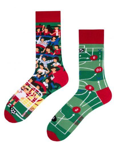 Veselé ponožky Futbalový fanúšik - Spox Sox