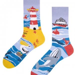 Veselé ponožky More – Spox Sox