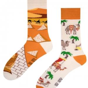 Veselé ponožky Pyramídy a ťavy – Spox Sox