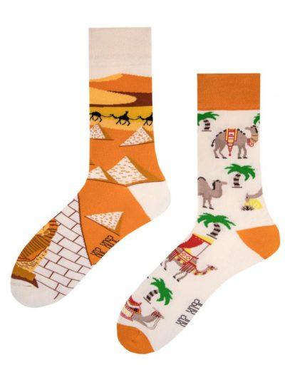 Veselé ponožky Pyramídy a ťavy - Spox Sox